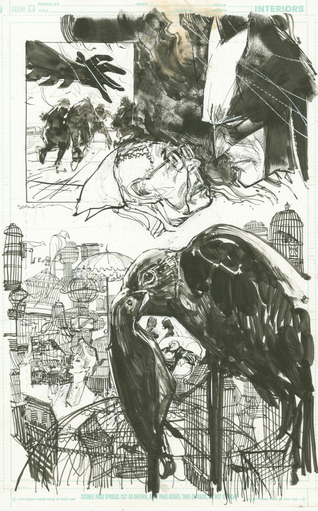 Batman Unused Page