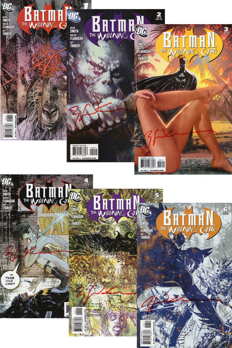 Batman: The Widening Gyre Complete Set of 6