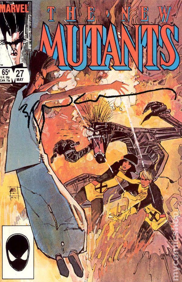 New Mutants #27 Signed