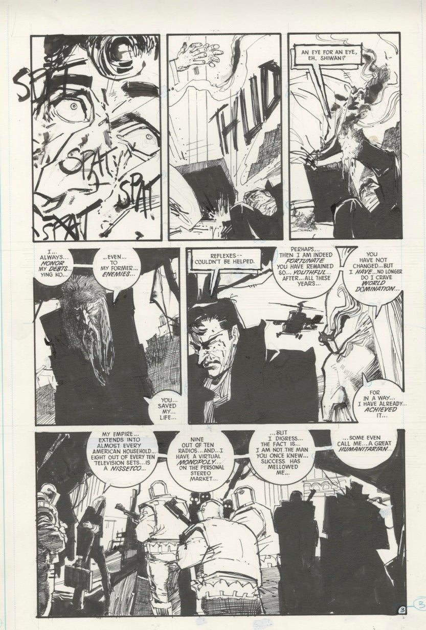 The Shadow #5 page 3