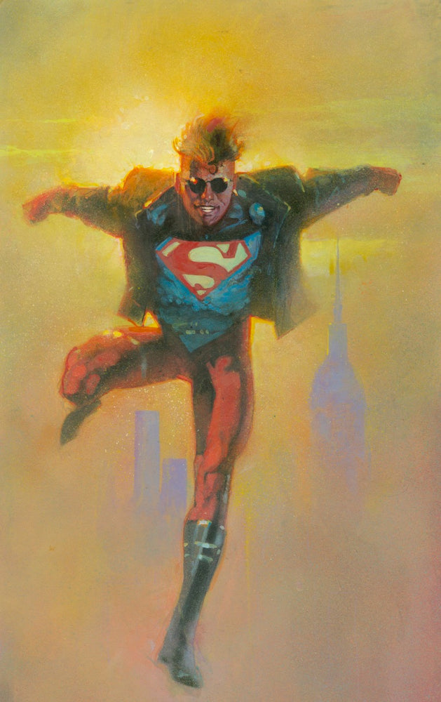 Superboy Card Art