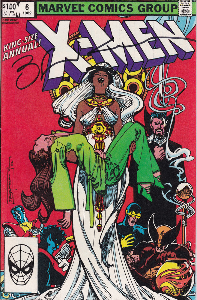 X-Men King Size Annual # 6 Signed Exclusive