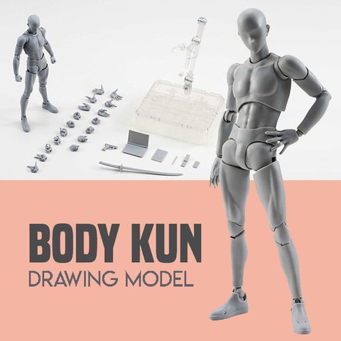 Body Kun Figure Drawing Model