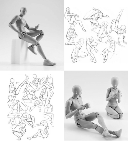 BodyKun Figure Drawing Poses and Sketches