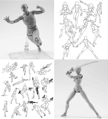 BodyKun Poses and Sketches