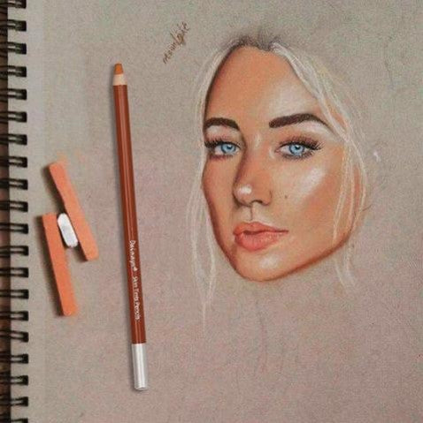 Skin Tone Colored Pencil