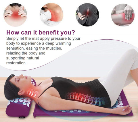 Acupressure Massage Mat Benefits