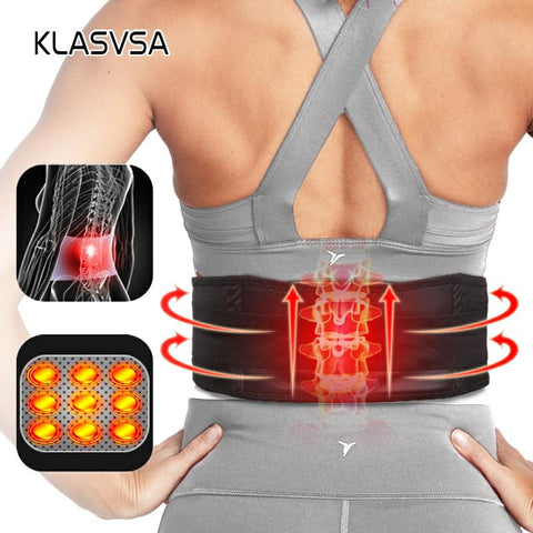 ThermoBrace™ - Self Heating Back Brace for Lower Back Pain Relief