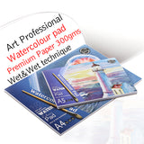 Premium Art Professional 300Gsm Art Book