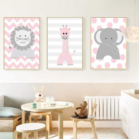 Cute and Calming Animal Wall Art