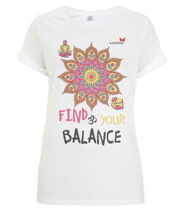 "Tshirt Oriental ""Find your balance"""