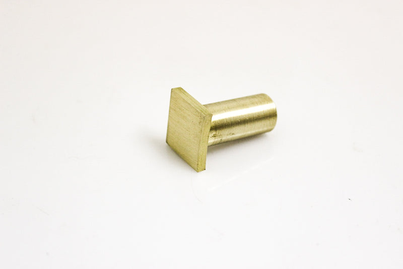 "HNT Gordon tail vive 1/8"" brass bench dog"