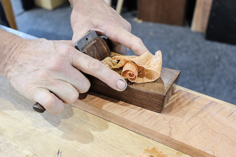 HNT Gordon Smoothing Plane in Action