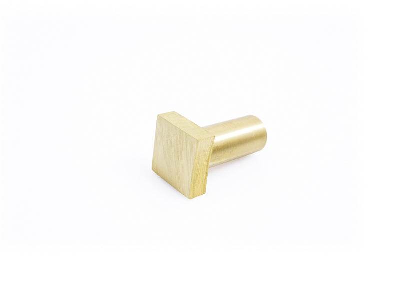 "HNT Gordon tail vive 1/4"" brass bench dog"