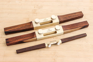 Specialty Brazilian Rose Wood Spoke Shave Set