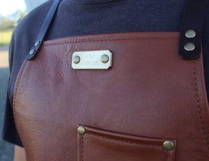 Tan Leather Apron