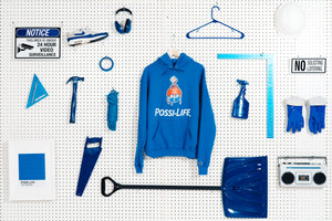 THE POSSI-LIFE PAINT HOODIE