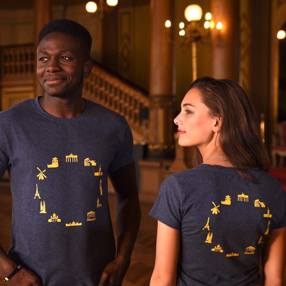 Landmarks T-shirt Women, T-Shirt - European Flag Fashion, Clothing & Apparel from  European By Choice