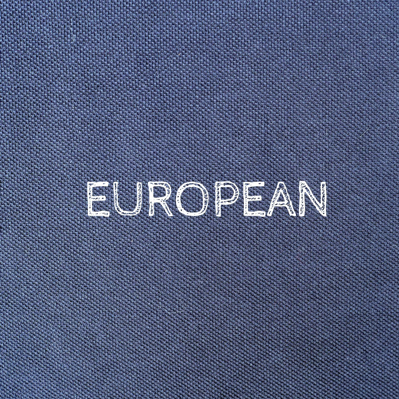 Polo - Printed statement, Polo - European Flag Fashion, Clothing & Apparel from  European By Choice