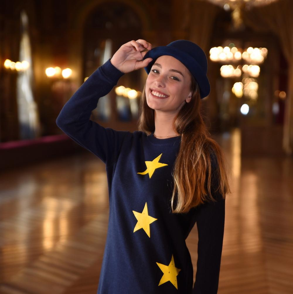 Stars Sweat-Dress, Dress - European Flag Fashion, Clothing & Apparel from  European By Choice