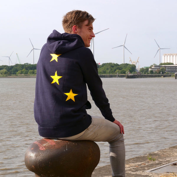 Stars Hoodie Unisex - European By Choice