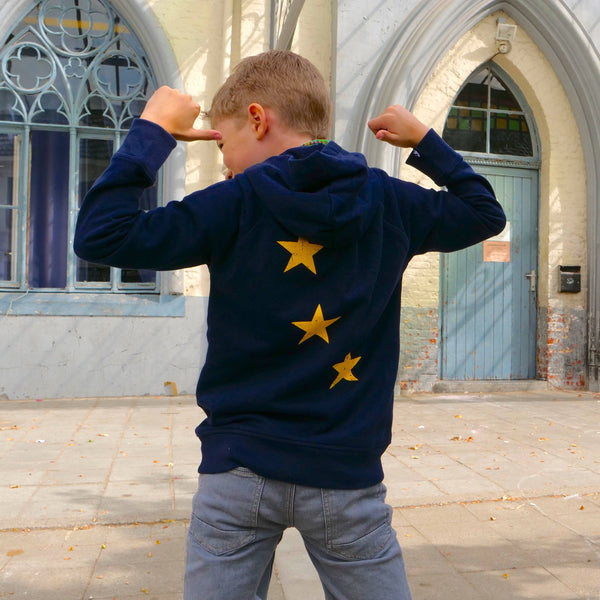 Stars Hoodie Kids - European By Choice