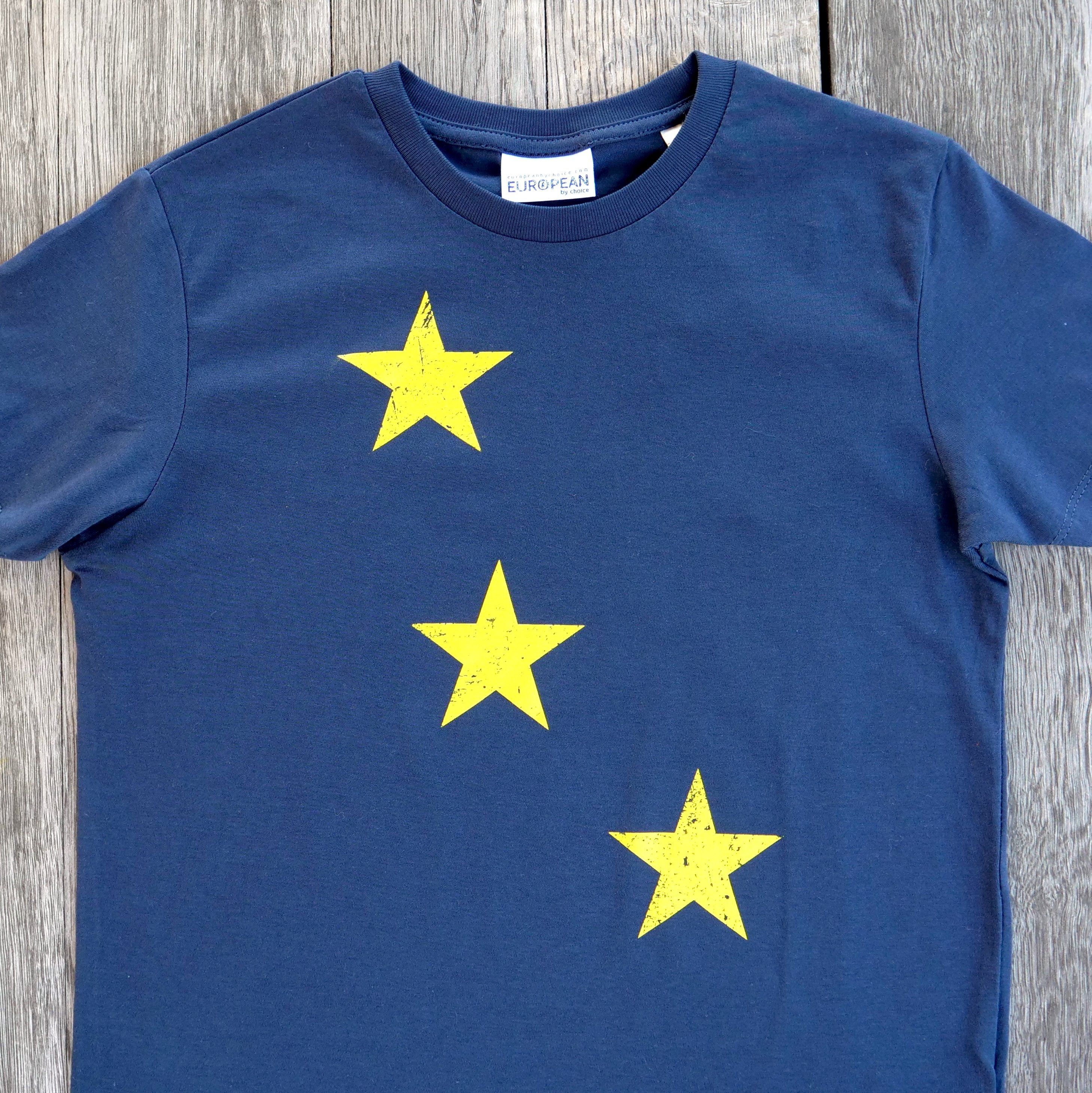 Stars T-shirt Kids - European By Choice