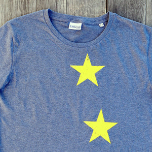 Stars T-shirt Men - European By Choice