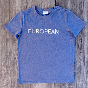 EUROPEAN T-shirt Men - European By Choice