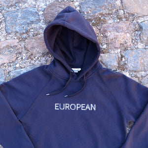EUROPEAN Hoodie Men - White statement - European By Choice