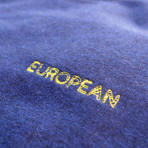 EUROPEAN Sweater Men - Yellow statement - European By Choice