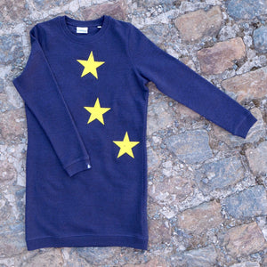 Stars Sweat-Dress - European By Choice