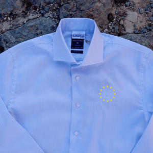 Stars Circle Dress Shirt, Dress shirt - European Flag Fashion, Clothing & Apparel from  European By Choice