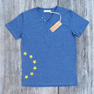 Sidestars T-shirt Men - European By Choice