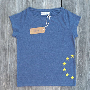Sidestars T-shirt Women - European By Choice