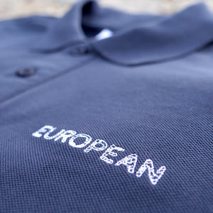 EUROPEAN polo - White statement - European By Choice