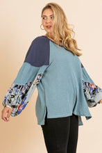 Keep It Casual Knit Top In Lagoon