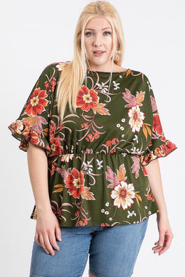 """Take Me To Brunch"" Floral Top"