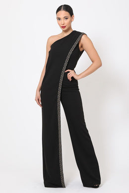 """I'm The One""  Chic Jumpsuit In Black"