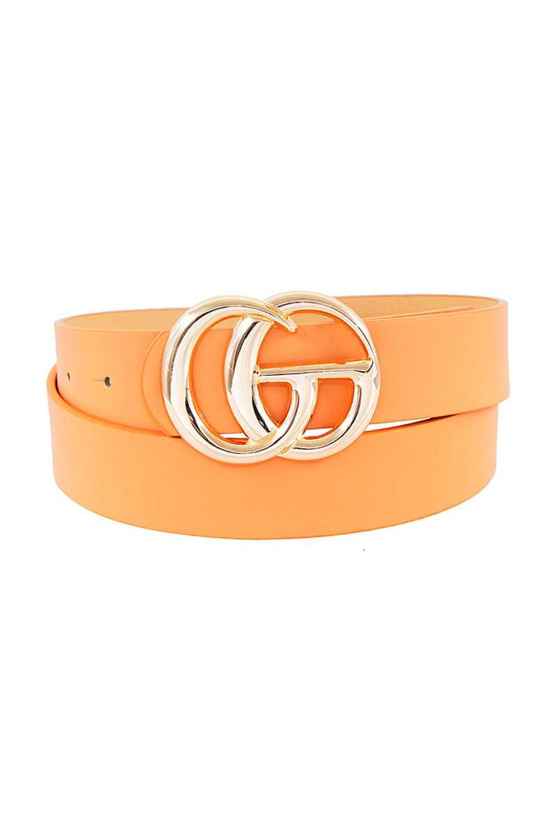 Stylish Trendy Letter Buckle Belt