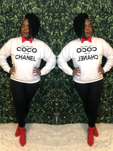 """  Coco Girl""  "" Sweater (Only)"