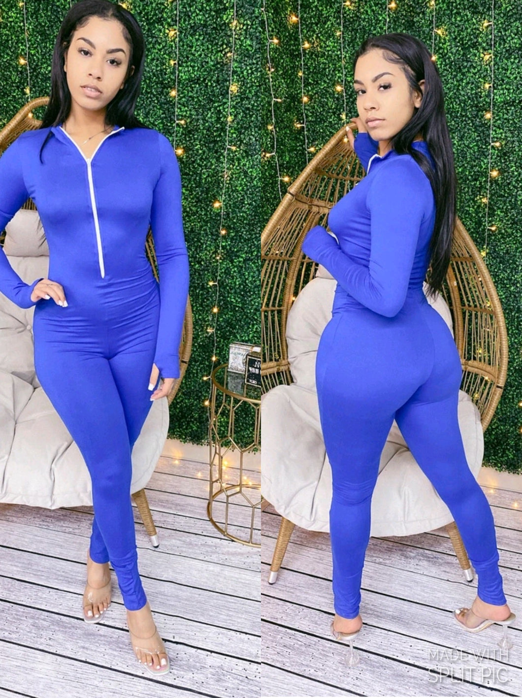 """Top Notch"" Jumpsuit in Royal Blue 💙"