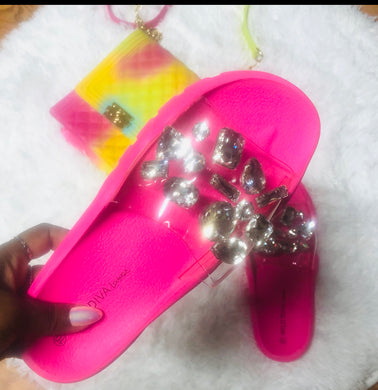"""Shine Like A Diamond""  Neon Slides"