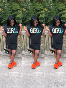 """Girly Girl"" T-Shirt Dress"