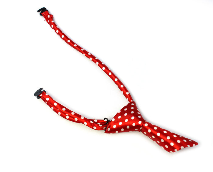 Red dog or cat neck tie