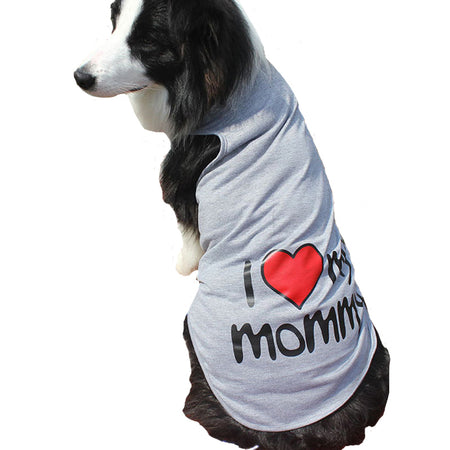 I <3 Mommy T-Shirt for Big Dogs
