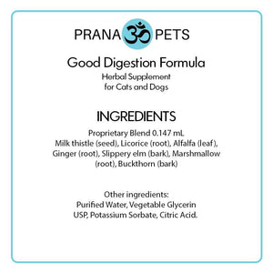 Good Digestion Formula  (3 Bottles For The Price of 2) - Pet Digestion