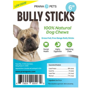 100% Natural Bully Sticks
