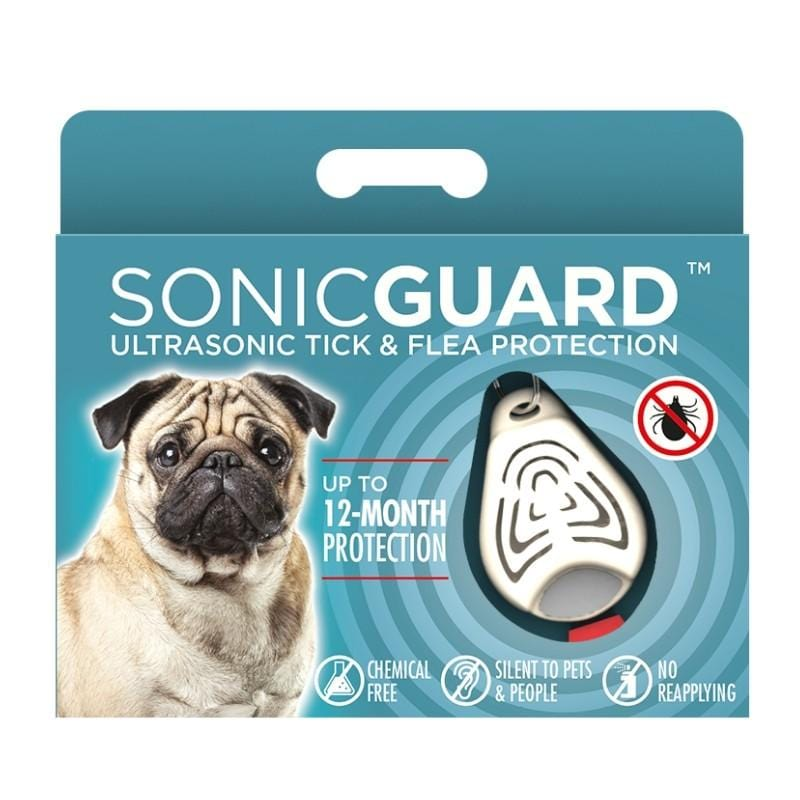 SonicGuard Pet Chemical Free Tick and Flea Repeller -For Dogs
