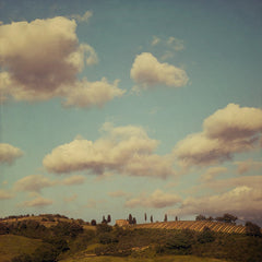 Under the Tuscan sky